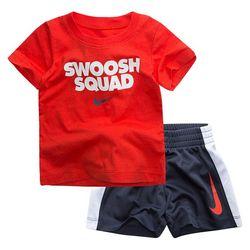Baby Boys Swoosh Squad Shorts Set