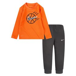 Nike Toddler Boys 2-pc. Thermal Top & Pants Set