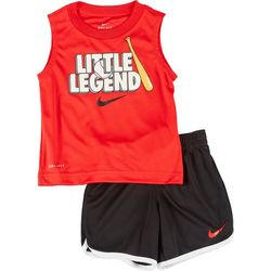 Nike Toddler Boys 2-pc. Little Legend Shorts Set