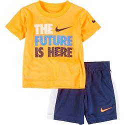 Toddler Boys 2-pc. The Future Is Here Shorts Set