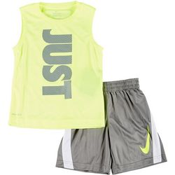Nike Toddler Boys 2-pc. Vertical Just Shorts Set