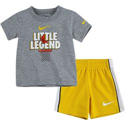 Nike Baby Boys Little Legend Shorts Set