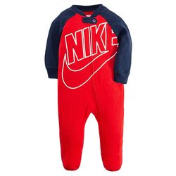 Baby Boys Swoosh Footed Coverall