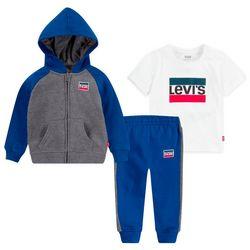 Levi's Baby Boys 3-pc. Raglan Hoodie Set