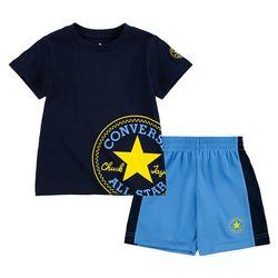 Toddler Boys Chuck Shorts Set