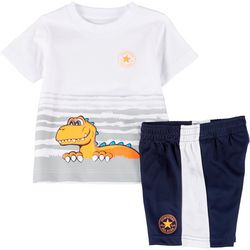 Converse Toddler Boys Dino Shorts Set