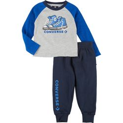 Converse Baby Boys Graphic Joggers Set