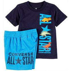 Converse Toddler Boys All Star Shorts Set