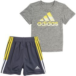 Adidas Toddler Boys 2-pc. Graphic T-shirt & Shorts Set