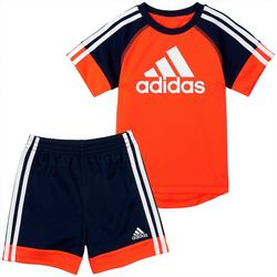 Adidas Toddler Boys 2-pc. Urban Shorts Set