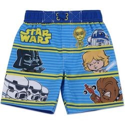 Star Wars Toddler Boys Graphic Swim Shorts