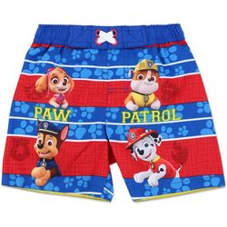 Nickelodeon Paw Patrol Baby Boys Striped Swim Shorts