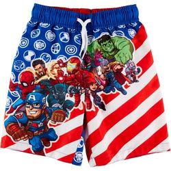 Toddler Boys Avengers Swim Shorts
