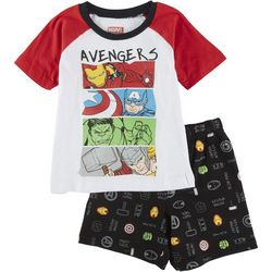 Avengers Toddler Boys 2-pc. Heroes Short Set