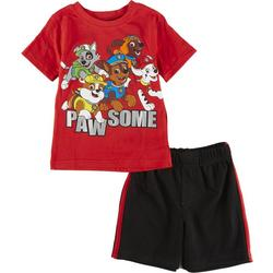 Toddler Boys 2-pc. Pawsome Short Set
