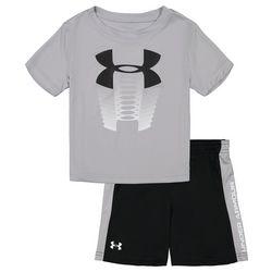 Toddler Boys 2-pc. Rising Logo Shorts Set