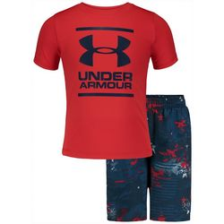 Under Armour Toddler Boys Camo Volley Swim Short Set