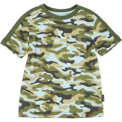 Toddler Boys Camo Print T-shirt
