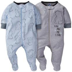 Baby Boys 2-pc. You Are My Star Bear Bodysuit Set