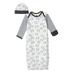 Baby Boys Lion Gown and Hat