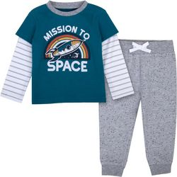 Sunshine Baby Baby Boys Mission To Space Jogger Pants Set