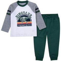 Baby Boys Dinosaur Jogger Pants Set