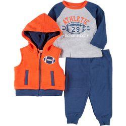 Boys 3-pc. Athletic Vest Set