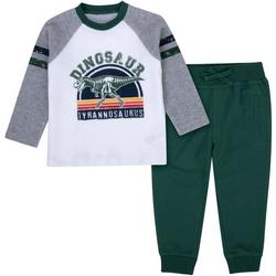 Baby Boys Dinosaur Jogger Pants Set