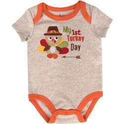 Sunshine Baby My 1st Turkey Day Bodysuit