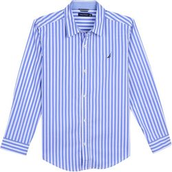 Nautica Toddler Boys Toby Stripe Button Down Shirt