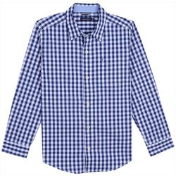 Nautica Toddler Boys Gingham Mason Button Down Shirt