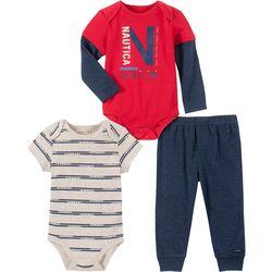 Baby Boys 3-pc. Sail Racing Clothing Set