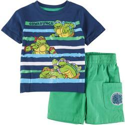 Teenage Mutant Ninja Turtles Baby Boys Cowabunga Shorts Set