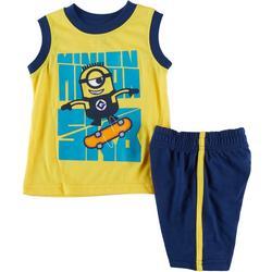 Baby Boys 2-pc. Minion Skate Set