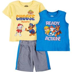 Toddler Boys 3-pc. Choose Pawsome Set