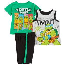 Toddler Boys 3-pc. TMNT Short Set