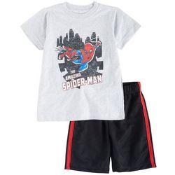 Spider-Man Toddler Boys 2-pc. Amazing Spider-Man Short Set