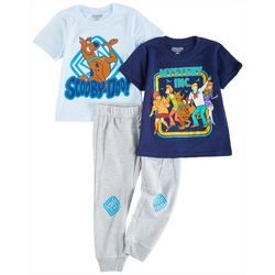 Scooby-Doo Toddler Boys 3-pc. Character Pant Set