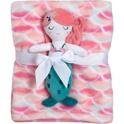 Baby Gear Baby Girls 2-pc. Mermaid Blanket Set