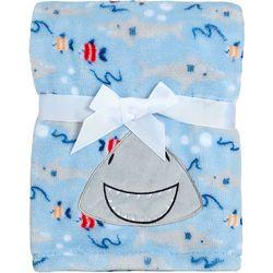 Baby Boys Shark Blanket