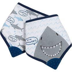 Baby Boys 2-pc. Shark Bandana Bib Set