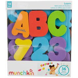 Learn Bath Letters & Numbers