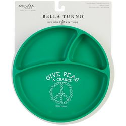 Bella Tunno Give Peas A Chance Wonder Plate