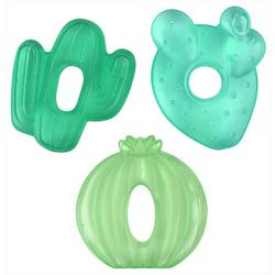 3-pk. Cactus Water Filled Teether