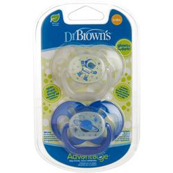 2-Pk. Glow In The Dark Advantage Pacifiers