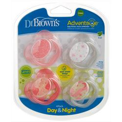 4-Pk. Glow In The Dark Advantage Pacifiers