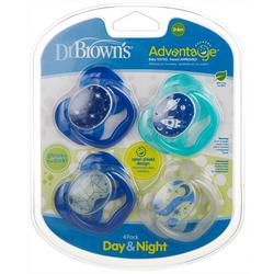 4-Pk. Glow Day & Night Pacifiers