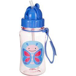 Skip Hop Butterfly Straw Bottle