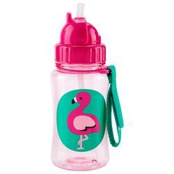 Flamingo Straw Bottle