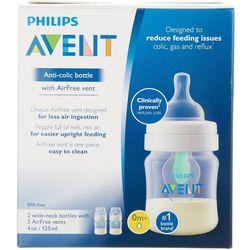 Avent 2-pk. 4 oz. Anti-Colic Bottle Set